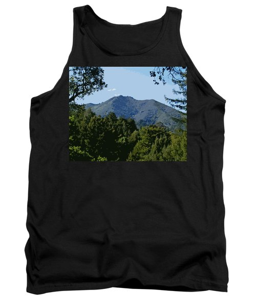 Tamalpais...the Sleeping Princess Tank Top