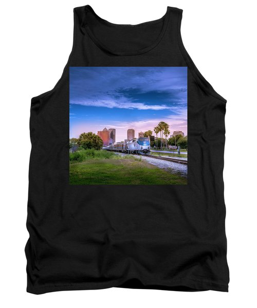 Tank Top featuring the photograph Tampa Departure by Marvin Spates