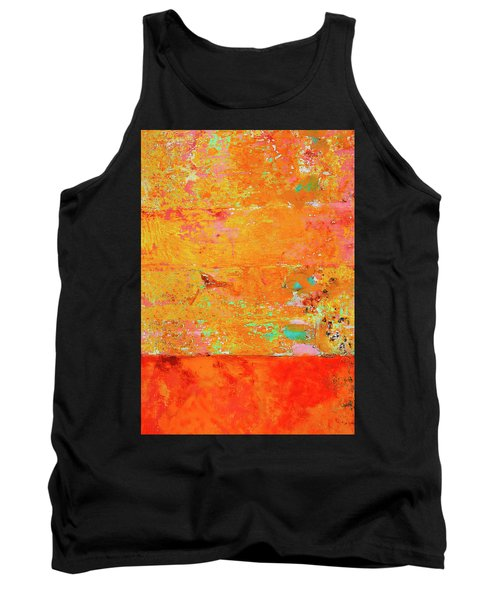 Tank Top featuring the photograph Tangerine Dream by Skip Hunt