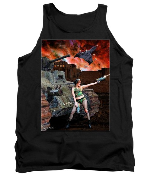 Tank Girl In Action Tank Top