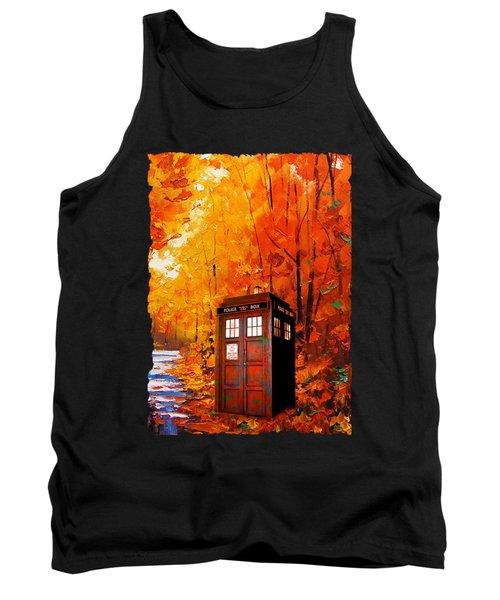 Tardis Autumn Tank Top