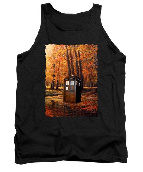Tardis Doctor Who  Tank Top