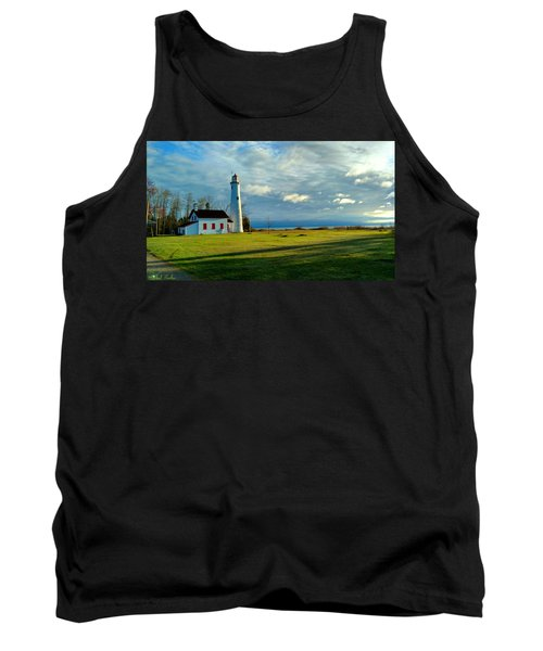 Sturgeon Point Lighthouse Tank Top