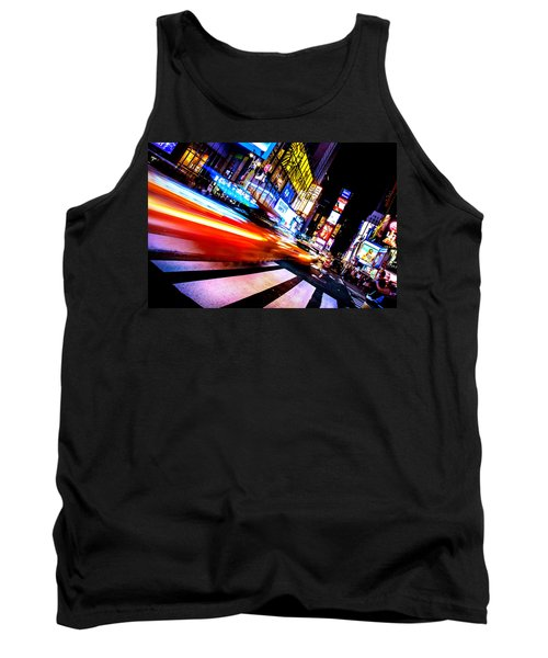 Taxis In Times Square Tank Top