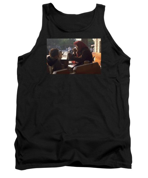 Tea In Tashkent Tank Top by Travel Pics