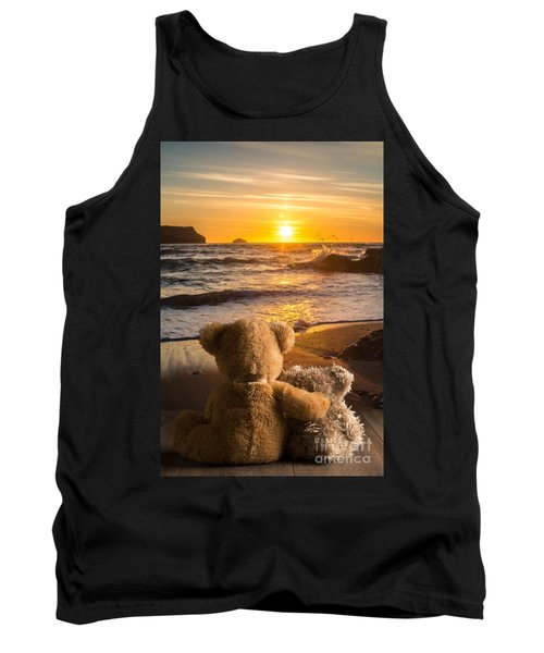 Teddies Watching The Sunset Tank Top