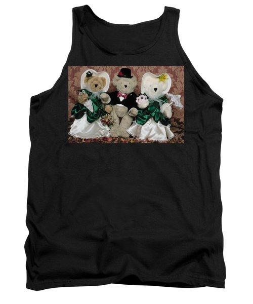 Teddy Bear Wedding Tank Top