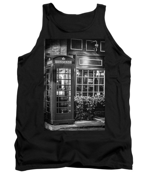 Telephone Booth Tank Top