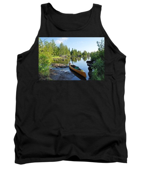 Temperance River Portage Tank Top by Larry Ricker