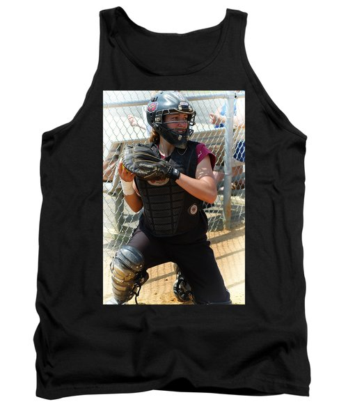 Temple University Bullpen Catcher Tank Top by Mike Martin