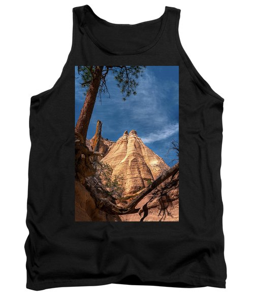 Tent Rock And Ponderosa Pine Tank Top