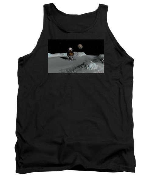 Tank Top featuring the digital art Testing The Waters by David Robinson