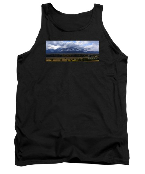 Tank Top featuring the photograph Teton Range # 1 by Sandy Molinaro