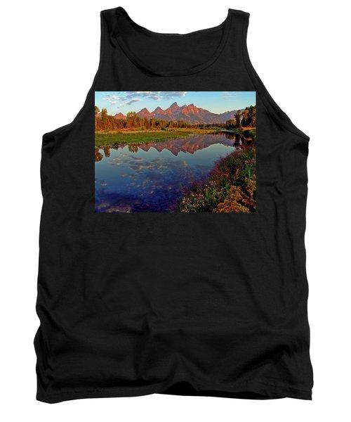 Teton Wildflowers Tank Top by Scott Mahon