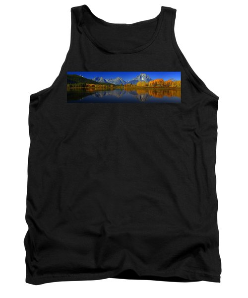 Tetons From Oxbow Bend Tank Top