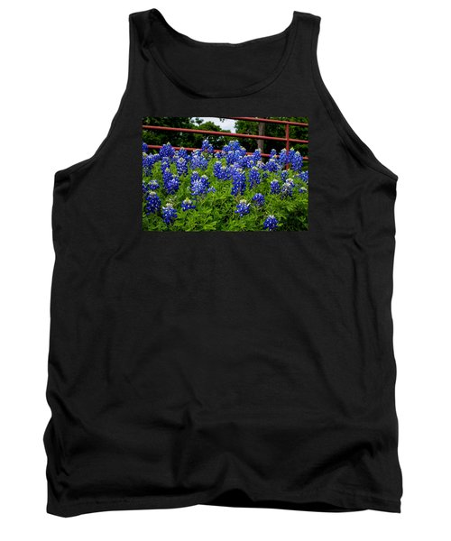 Texas Bluebonnets In Ennis Tank Top