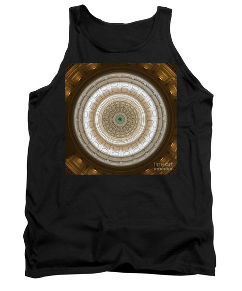 Tank Top featuring the photograph Texas Capital by Robert Meanor