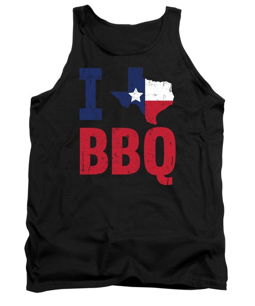 Texas Flag Barbecue Texan Gift Bbq Tank Top