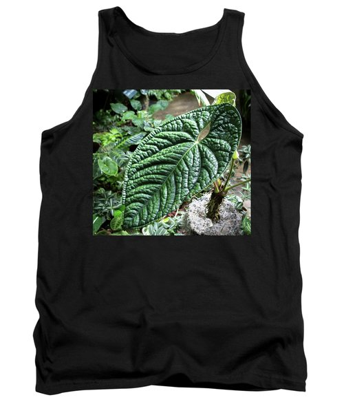Texture Of A Leaf Tank Top
