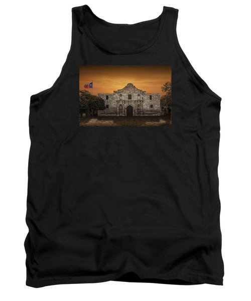 The Alamo Mission In San Antonio Tank Top by Randall Nyhof