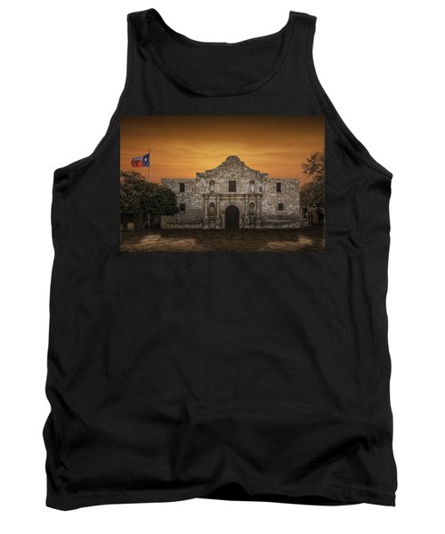 The Alamo Mission In San Antonio Tank Top