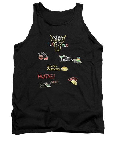The American Grill Tank Top by Mark Rogan
