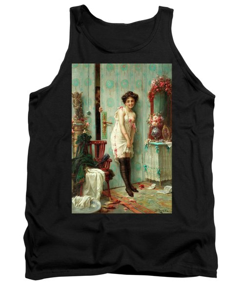 The Amorous Visitor Tank Top