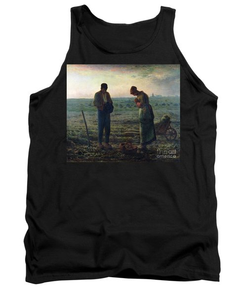 The Angelus Tank Top by Jean-Francois Millet