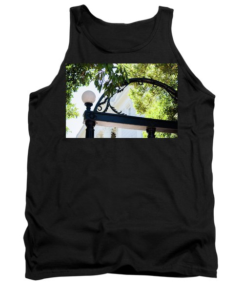 Tank Top featuring the photograph The Arch by Parker Cunningham