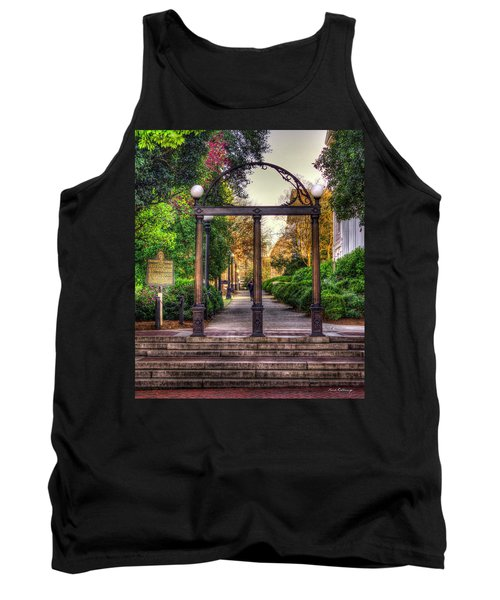 The Arch University Of Georgia Arch Art Tank Top