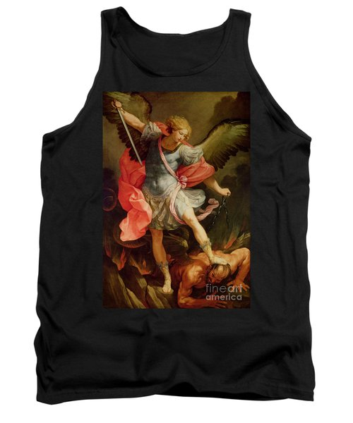 The Archangel Michael Defeating Satan Tank Top
