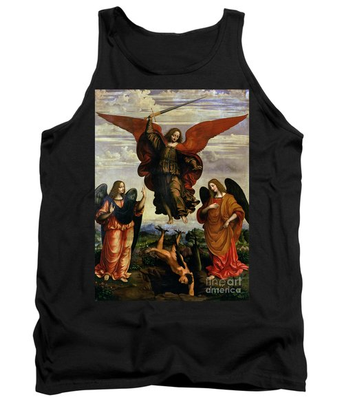 The Archangels Triumphing Over Lucifer Tank Top