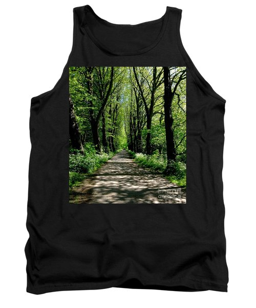 The Avenue Of Limes At Mill Park 3 Tank Top