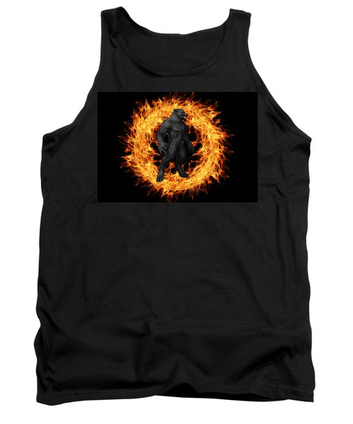 The Beast Emerges From The Ring Of Fire Tank Top