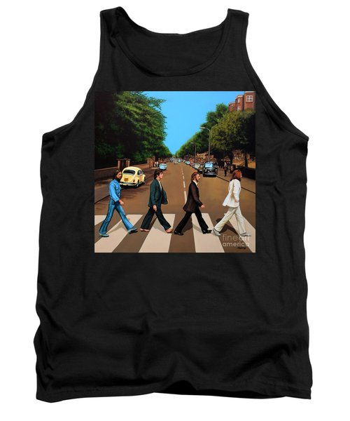 The Beatles Abbey Road Tank Top