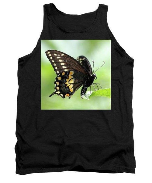 The Beautiful Black Swallowtail Tank Top