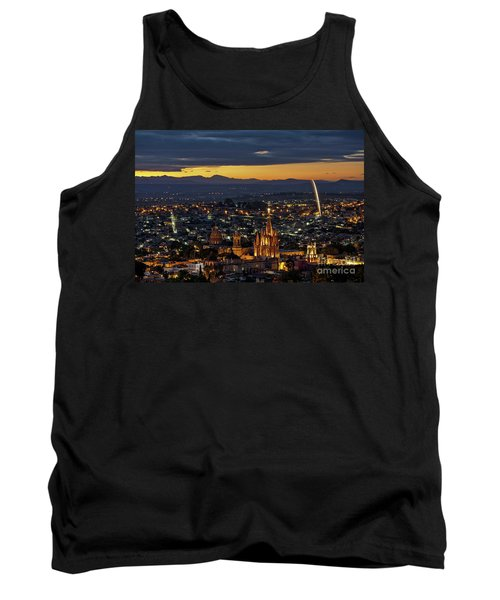 The Beautiful Spanish Colonial City Of San Miguel De Allende, Mexico Tank Top