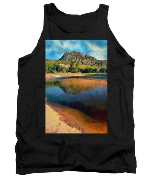 Tank Top featuring the painting The Beehive by Jeff Kolker