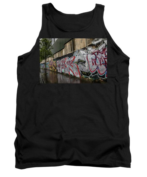 The Belfast Peace Wall Tank Top