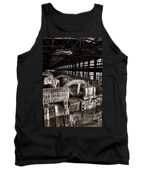 The Blower House At Bethlehem Steel  Tank Top