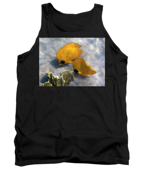 The Bluecheeked Butterflyfish Tank Top