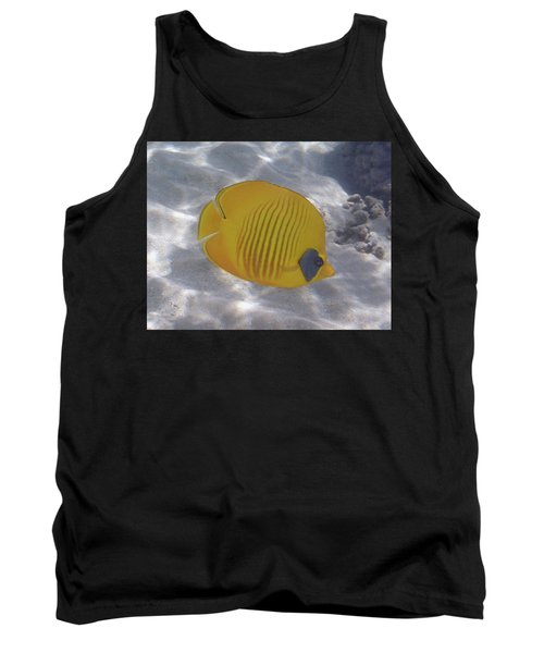 The Bluecheeked Butterflyfish Red Sea Tank Top