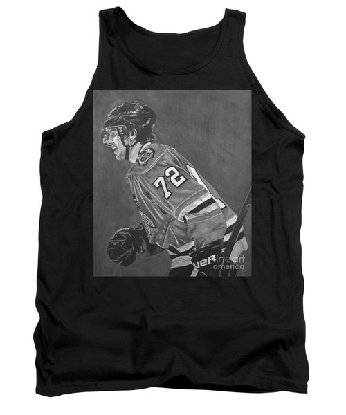 Tank Top featuring the drawing The Breadman by Melissa Goodrich