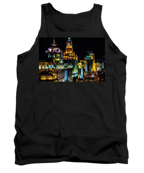 Tank Top featuring the photograph The Bund by Jason Roberts