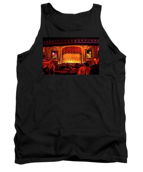Tank Top featuring the photograph The Byrd Theatre by Jean Haynes
