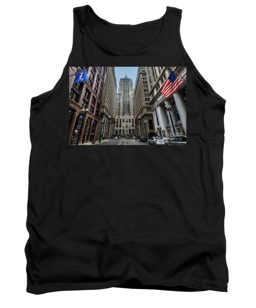 The Canyon In The Financial District Tank Top