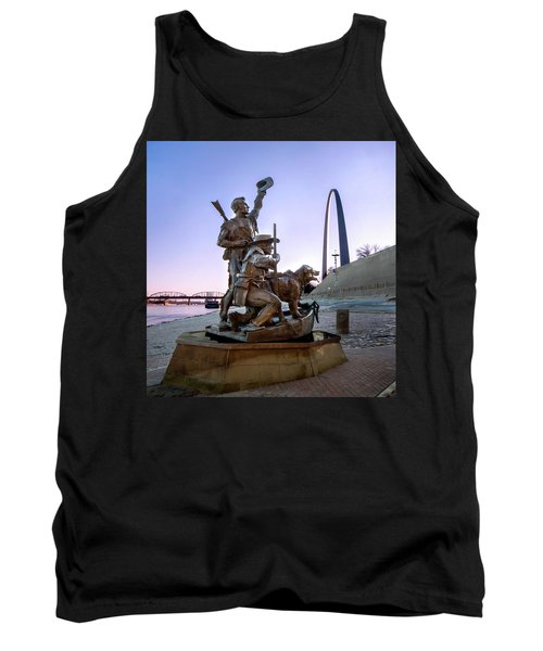 The Captain Returns With Arch Tank Top