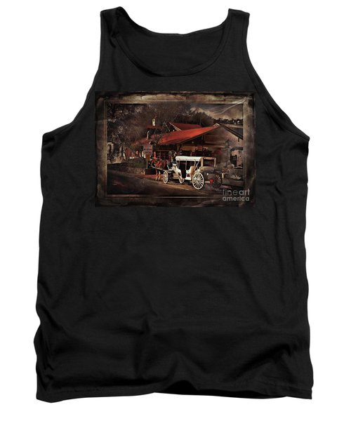 The Carriage Tank Top by Bob Pardue