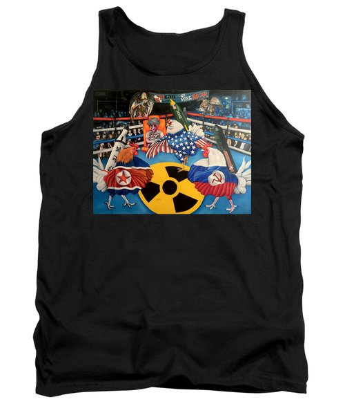 The Chickens Fight Tank Top
