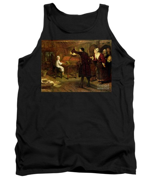 The Child Handel Discovered By His Parents Tank Top